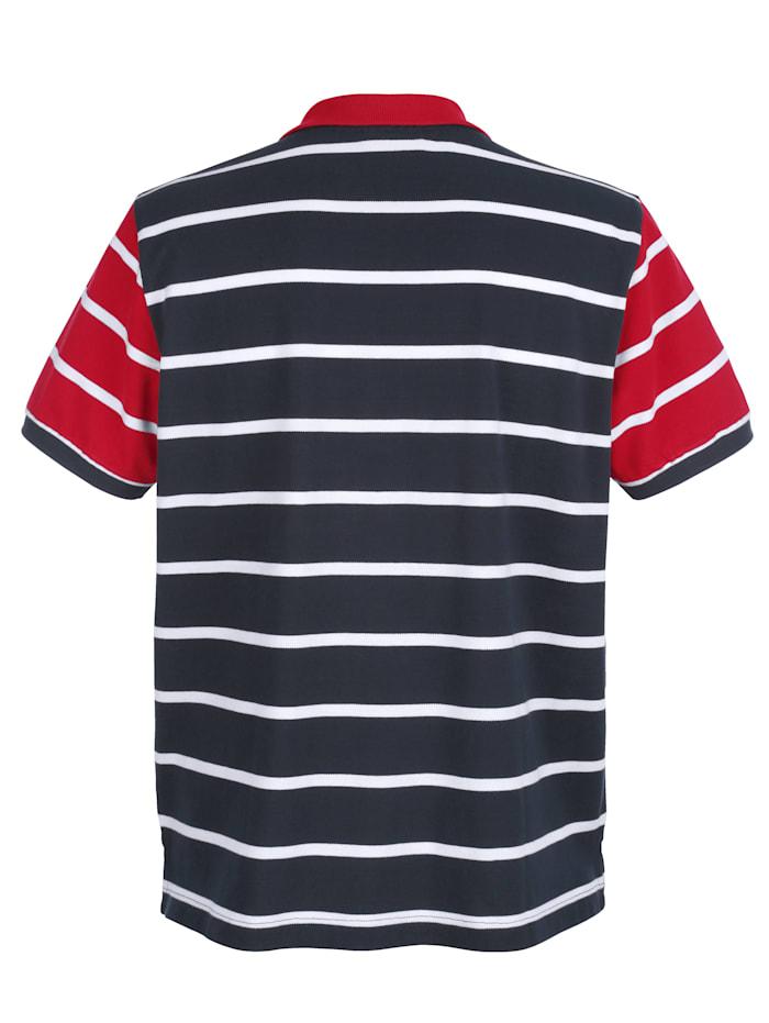 Poloshirt in maritimer Farbkombi