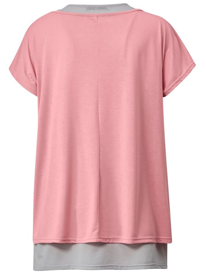 Shirt en topje in sportieve look