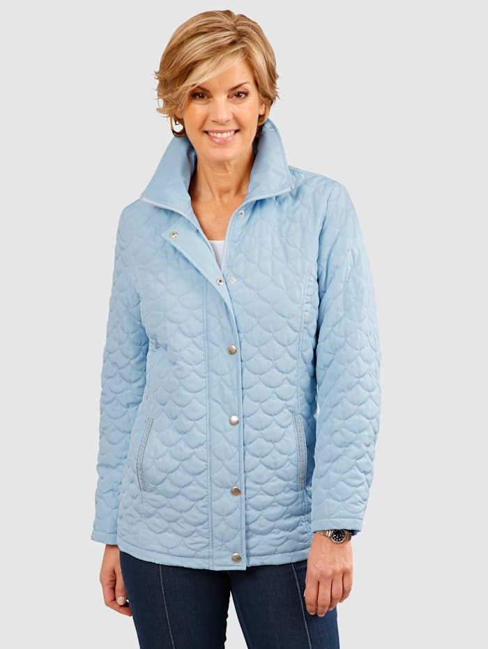 Quilted Jacket Elegant stitching