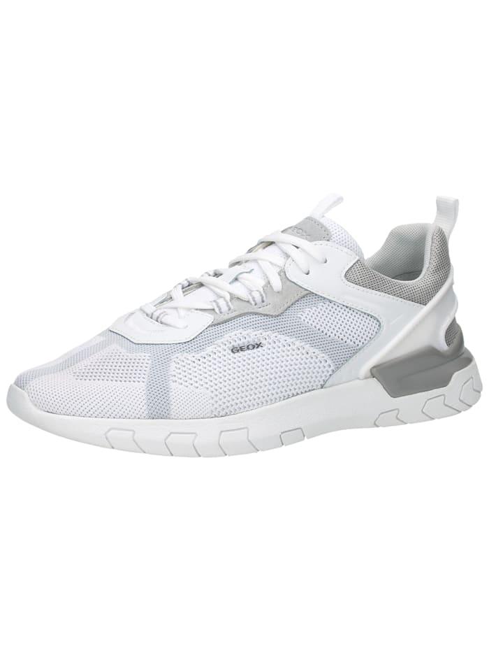 Geox Geox Sneaker, Weiß/Hellgrau