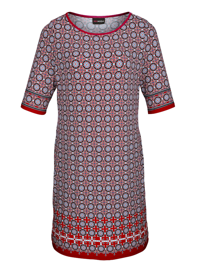 Robe à imprimé minimaliste tendance