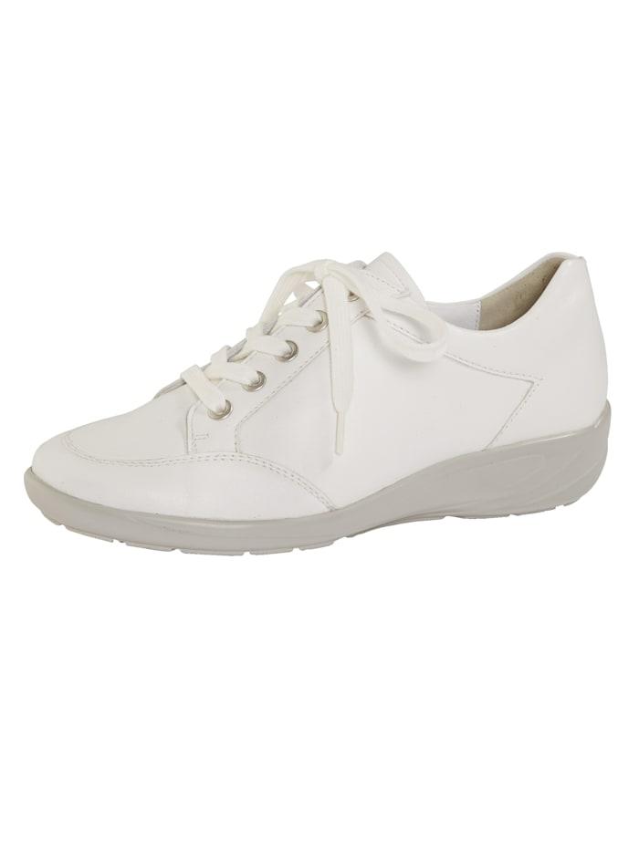 Semler Šnurovacia obuv s podrážkou so vzduchovým vankúšikom, Biela