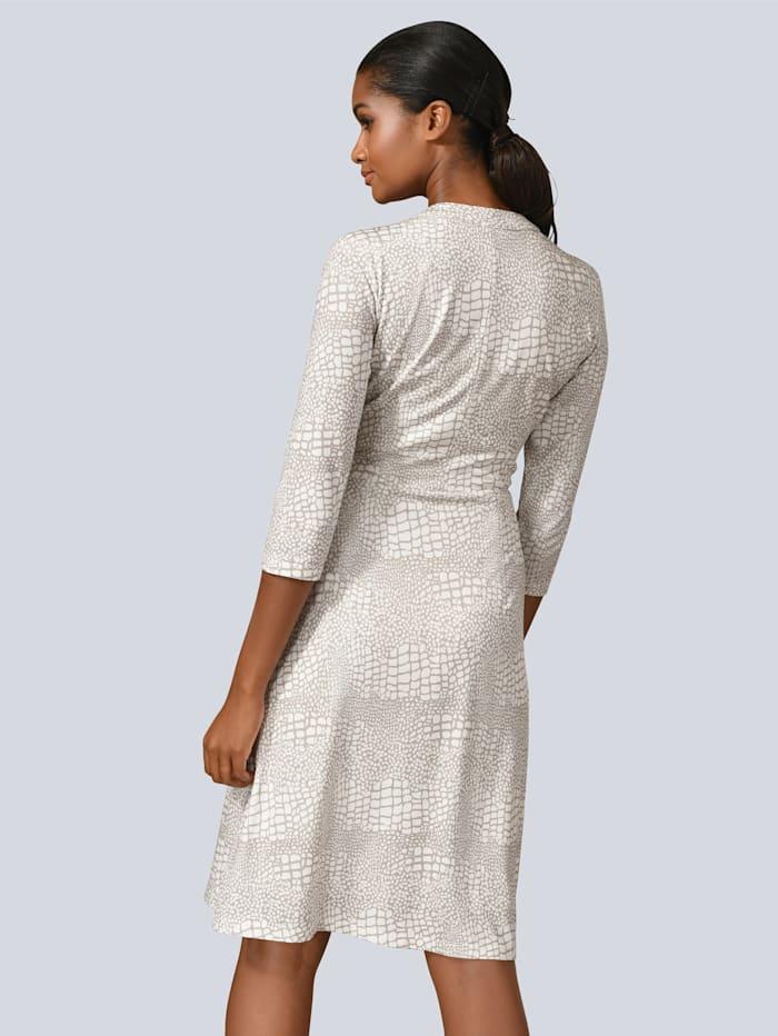 Kleid in harmonischem Print