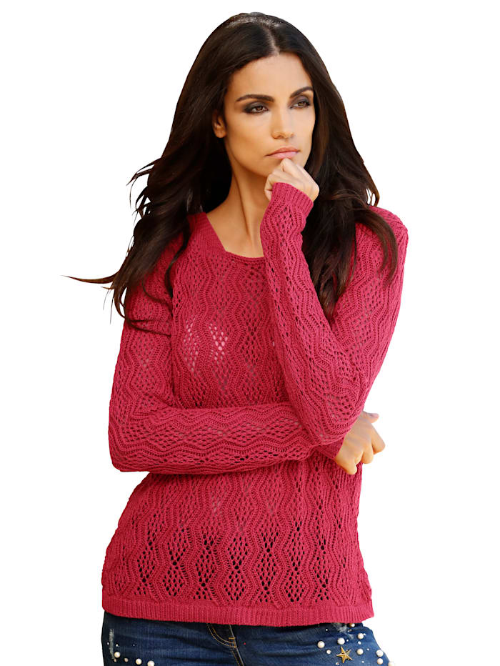 AMY VERMONT Pullover, Rot