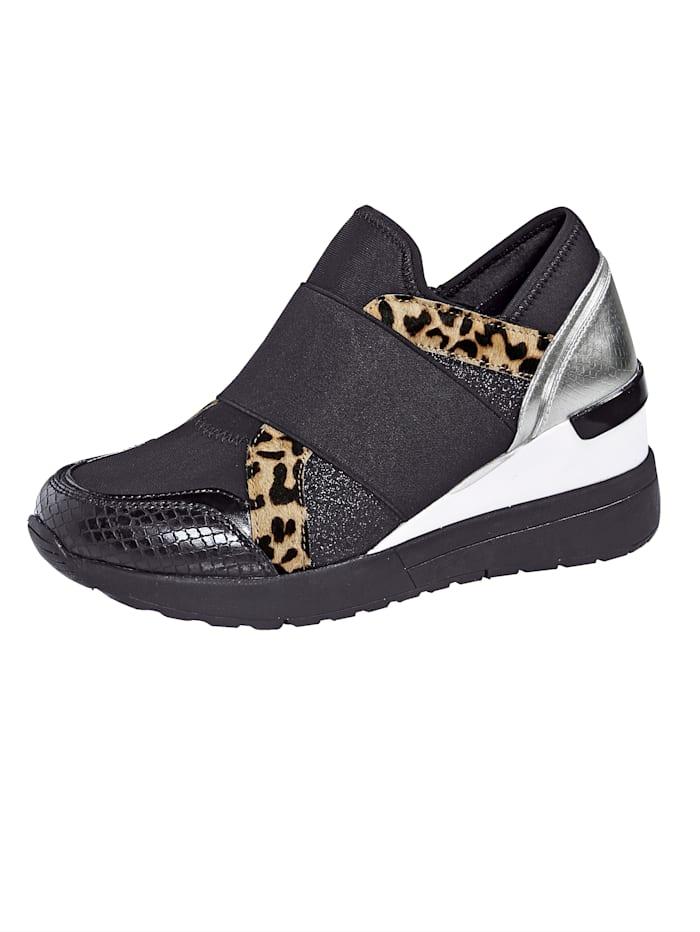 Liva Loop Sneakers à applications mode, Noir
