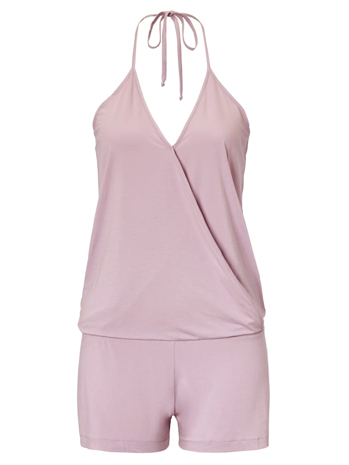 SUNDAY IN BED Jersey-Jumpsuit, Lavendel