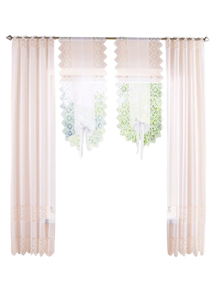 "Home Wohnideen Záclona na okno a dvere ""Maren"" 2 ks, biela"