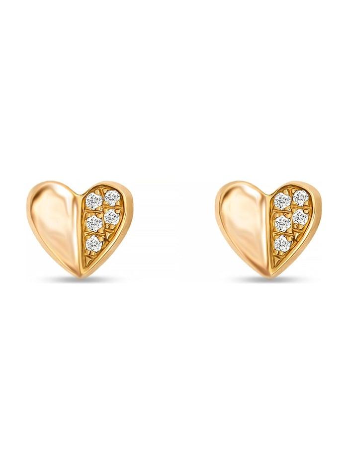 CHRIST Diamonds CHRIST Diamonds Damen-Ohrstecker 10 Diamant, gelbgold