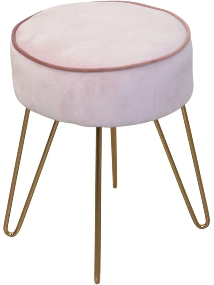 Möbel-Direkt-Online Sitzpouf Tinka, rosa