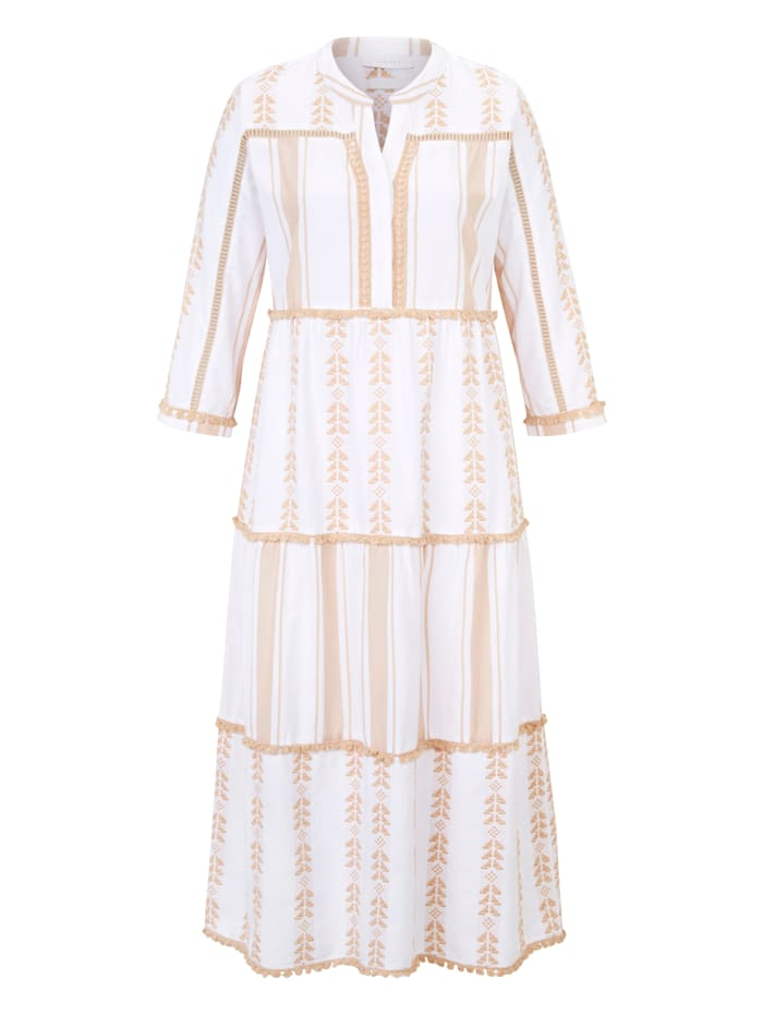 rich&royal Tunikkleid, Creme-Weiß