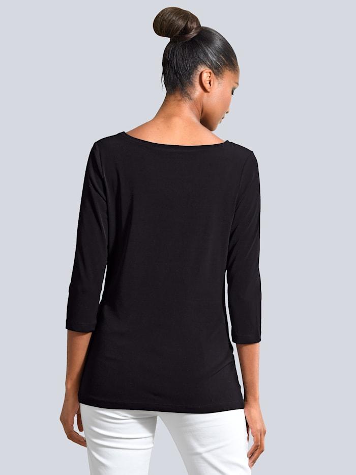 Shirt mit kleinen Raffungen