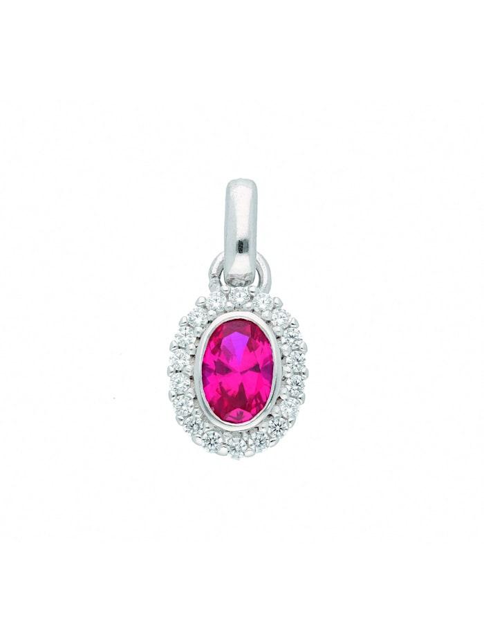 1001 Diamonds Damen Silberschmuck 925 Silber Anhänger mit Zirkonia, bunt