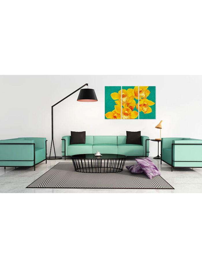 Wandbild Energieschub - Triptychon