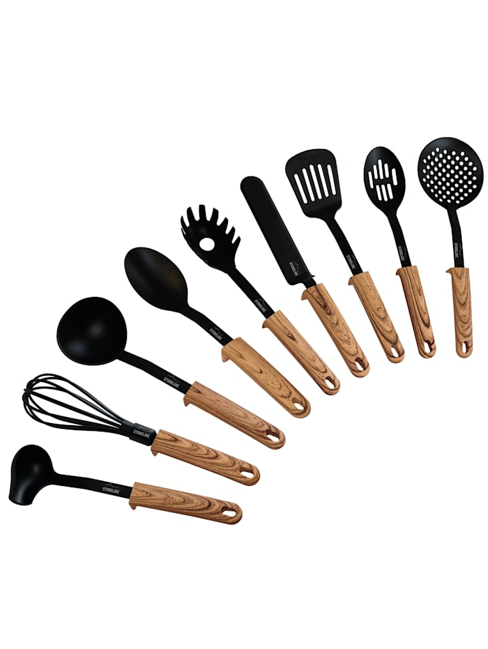 Set ustensiles cuisine 9 pces