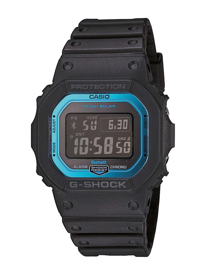 Casio Herren-Funk-Solar-Uhr-Chronograph GW-B5600-2ER, Schwarz