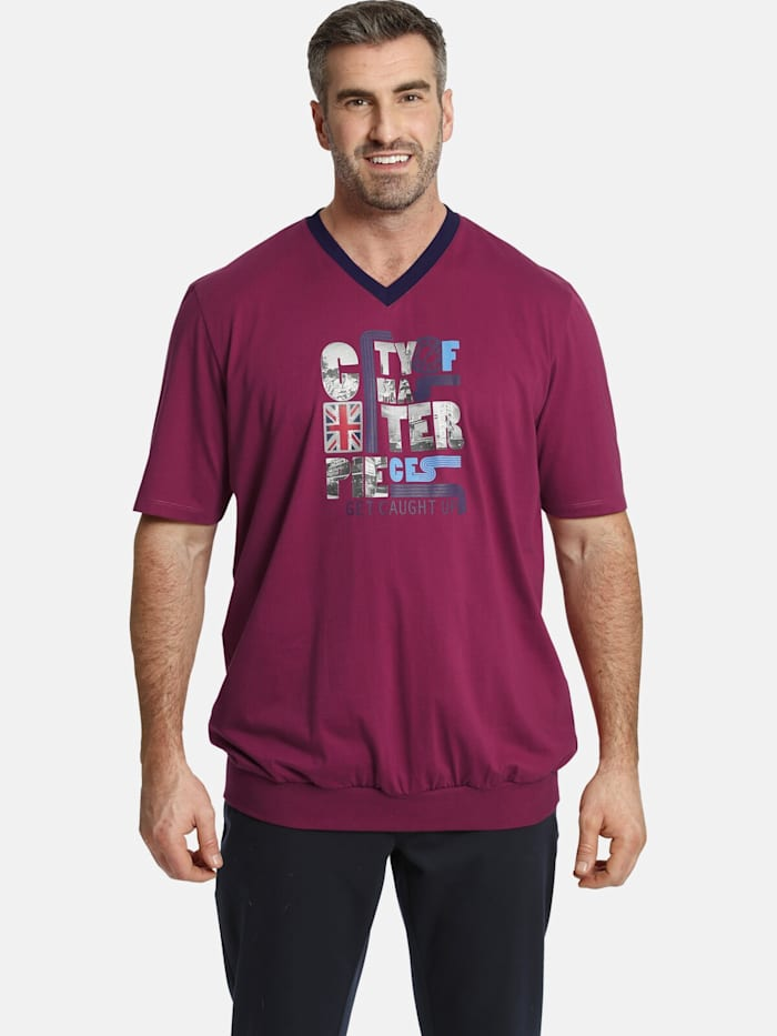 Charles Colby Charles Colby T-Shirt EARL MEGAT, pink
