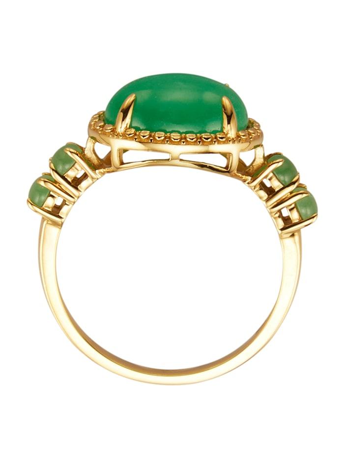 Ring med jade (beh.)
