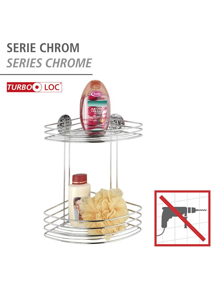 Turbo-Loc® Eckregal 2 Ablagen, Befestigen ohne bohren