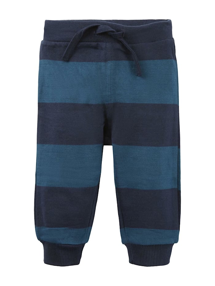 Tom Tailor Gestreifte Jogginghose, navy blazer|blue