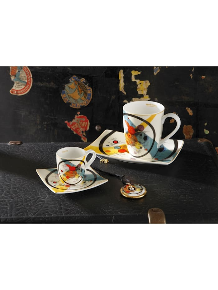 Goebel Espressotasse Wassily Kandinsky - Kreise im Kreis