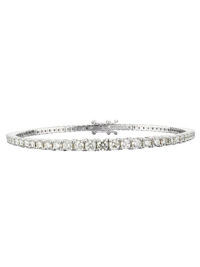 Amara Diamants Bracelet rivière à brillants, Blanc