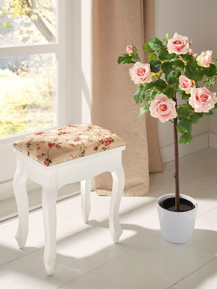 Tabouret 'Roses'