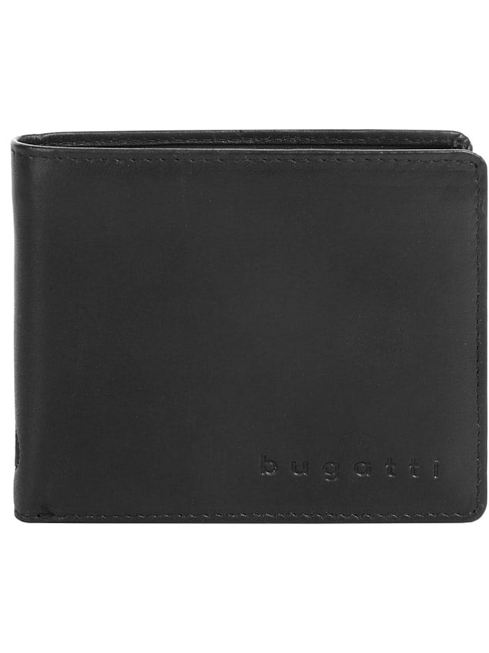 Bugatti Geldbörse PRIMO RFID, schwarz