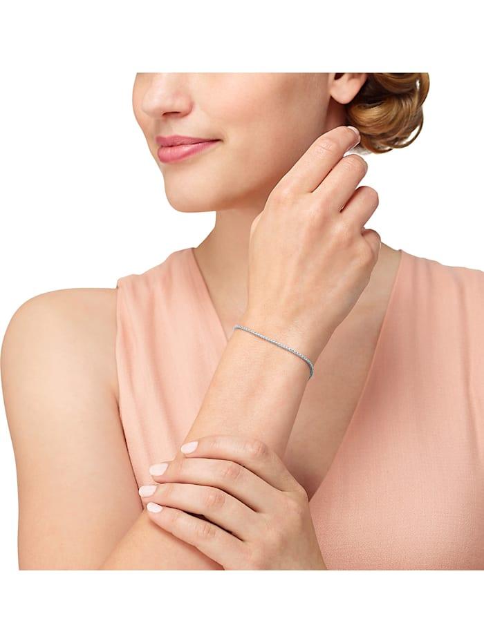 CHRIST Diamonds Damen-Armband 750er Weißgold 97 Diamant