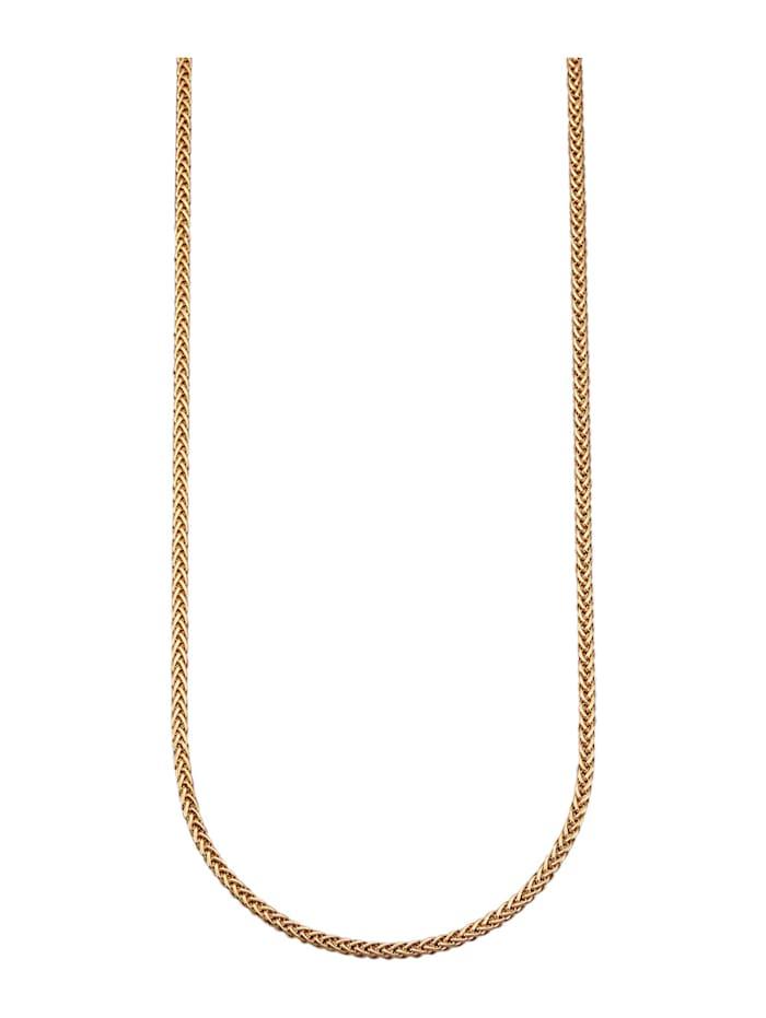 Amara Highlights Halskette in Gelbgold 585, Gelbgoldfarben