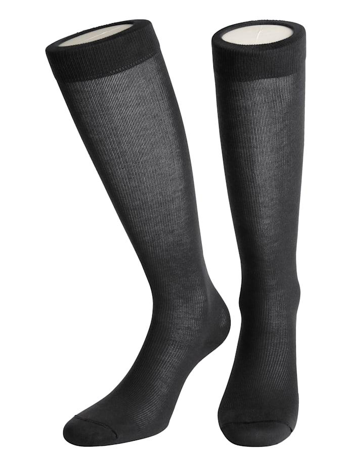 Arthroven Chaussettes de contention en coton, Gris