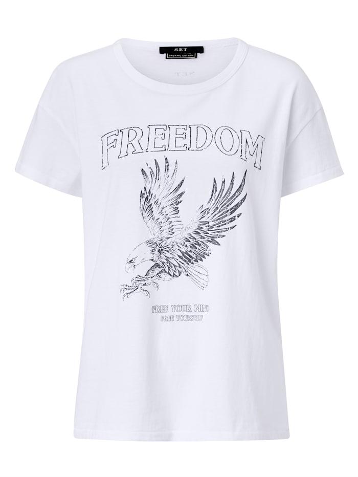 SET T-Shirt, Off-white