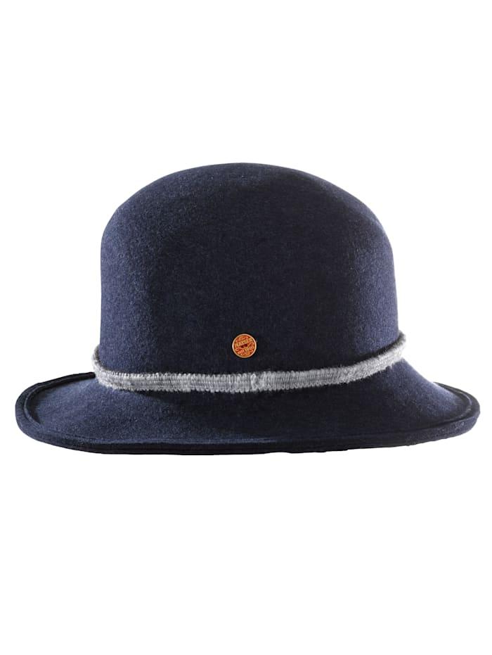 Dámsky filcový klobúk. Tina