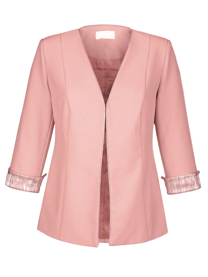 Blazer with shimmering detailing