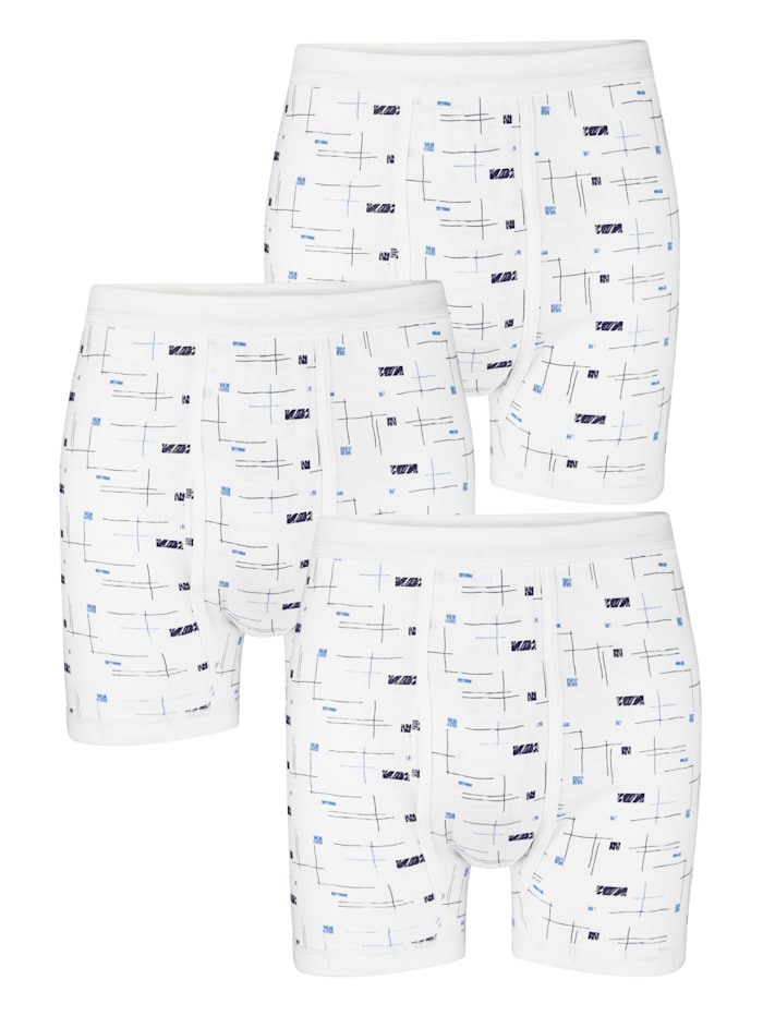 G Gregory Boxers, Blanc