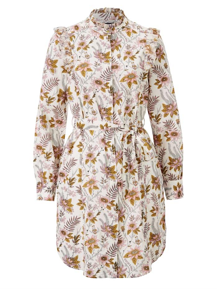 SCOTCH & SODA Hemdblusenkleid, Weiß