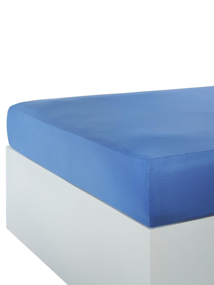 Webschatz Dra på-lakan i mikrofiber, azurblå