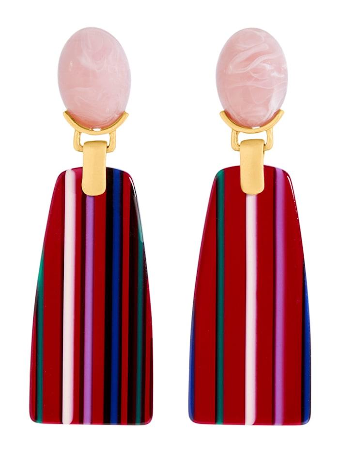 SIENNA Ohrringe im Retro-Look, Multicolor