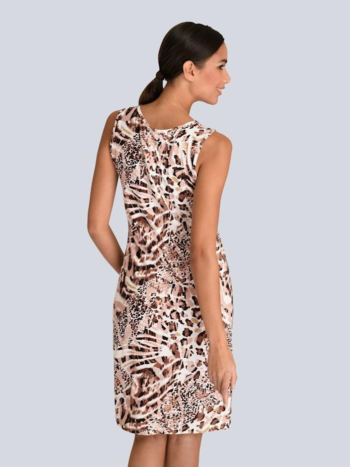 Kleid mit femininem Knotendetail vorne