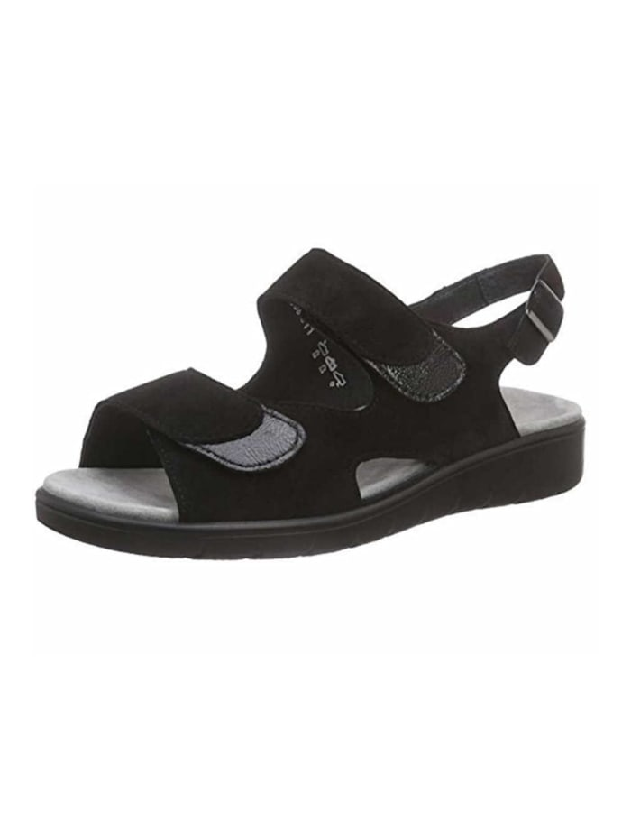 Semler Sandale, schwarz