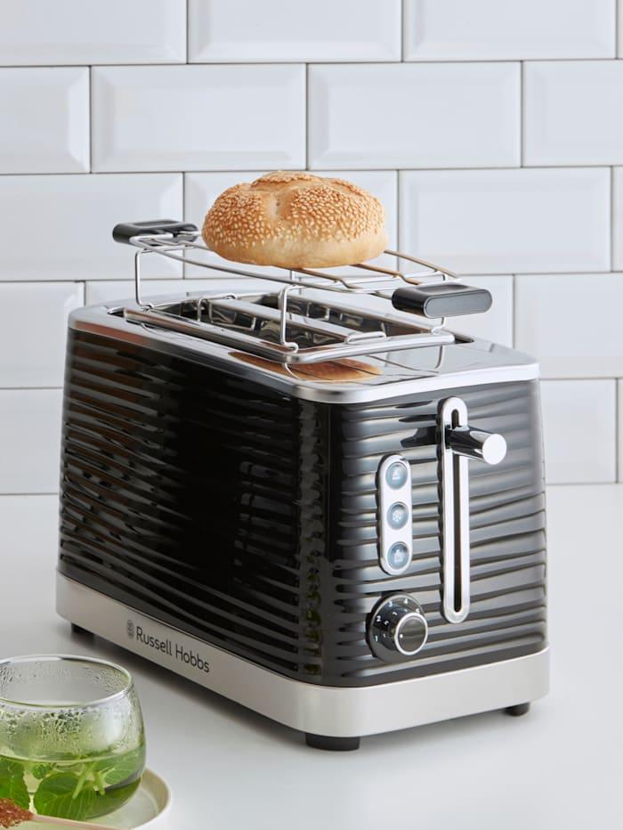 Russell Hobbs RUSSELL HOBBS Inspire Black Toaster, Schwarz