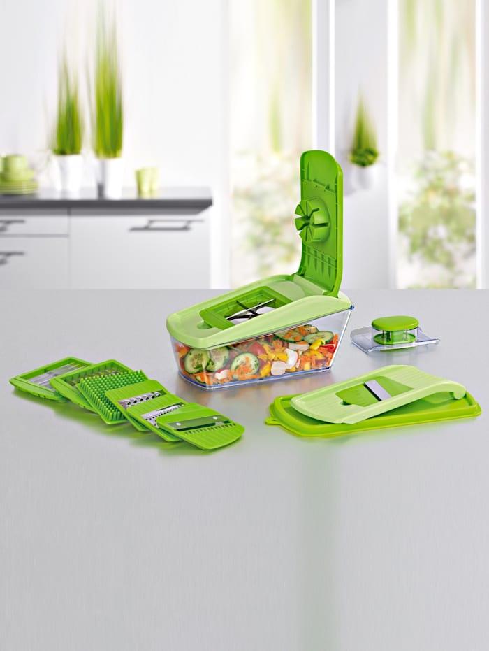 GOURMETmaxx Chop'n Slice Pro, groen