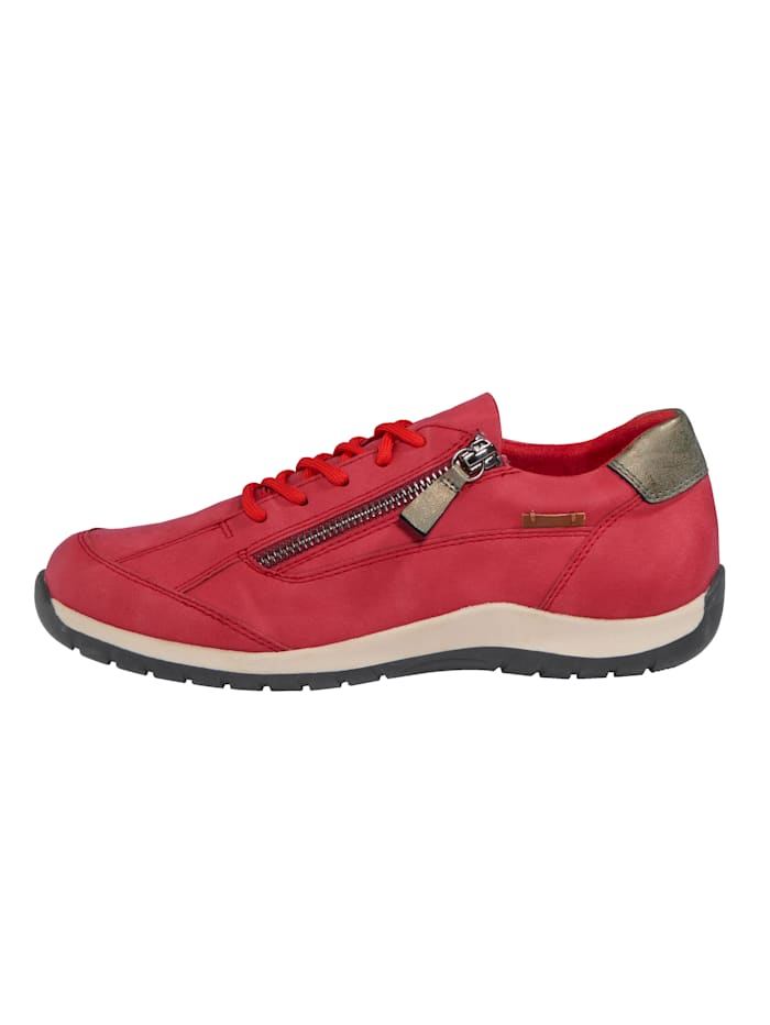 Trainers with side zip