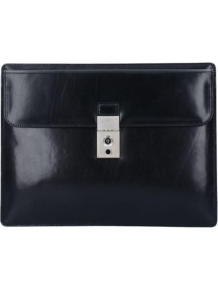 Picard Office Aktenmappe Leder 33 cm, schwarz