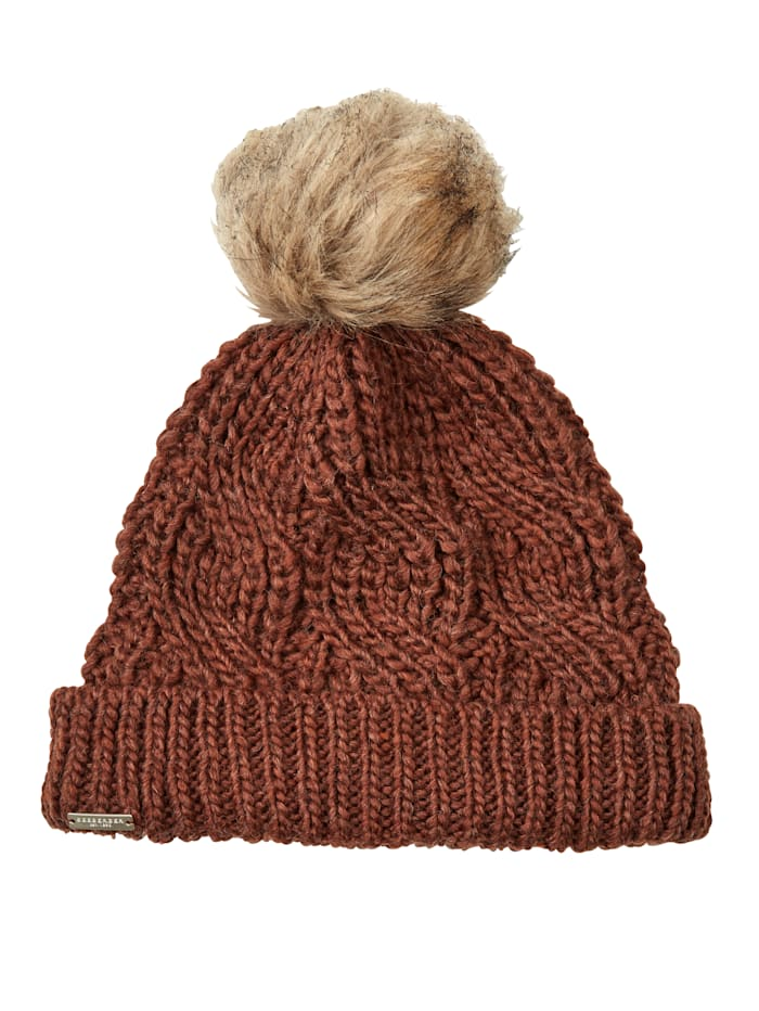 Seeberger Knitted hat, Brown
