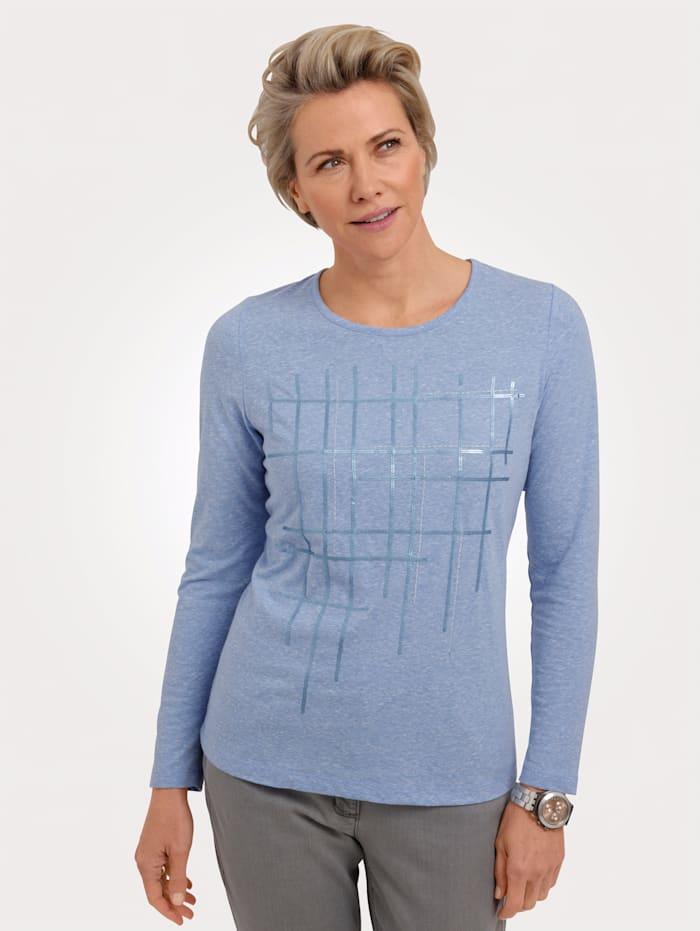 MONA Shirt zum Preisvorteil, Hellblau