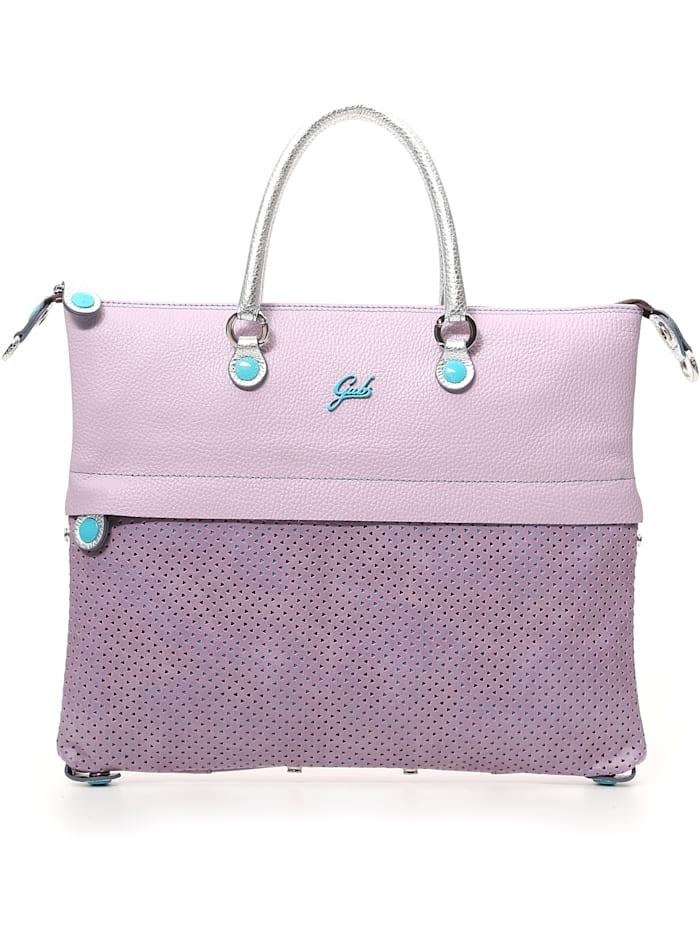 Gabs G3 Plus Handtasche Leder 37 cm, lilac