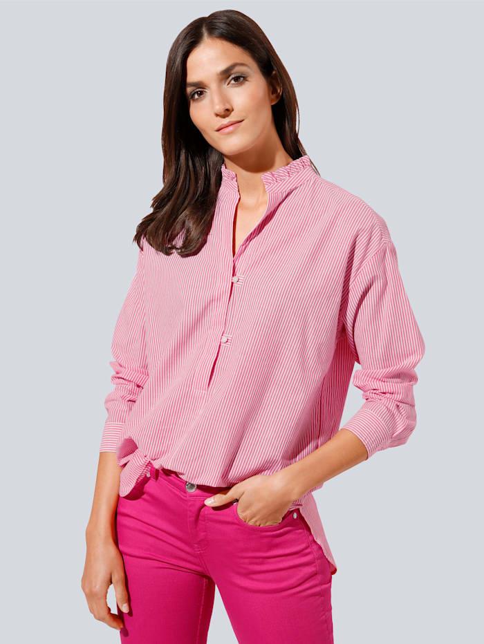 JETTE JOOP Bluse im Streifendessin, Pink