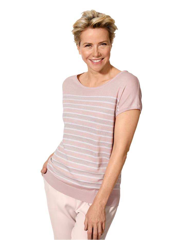 Pullover aus Feinstrick mit Effektgarn