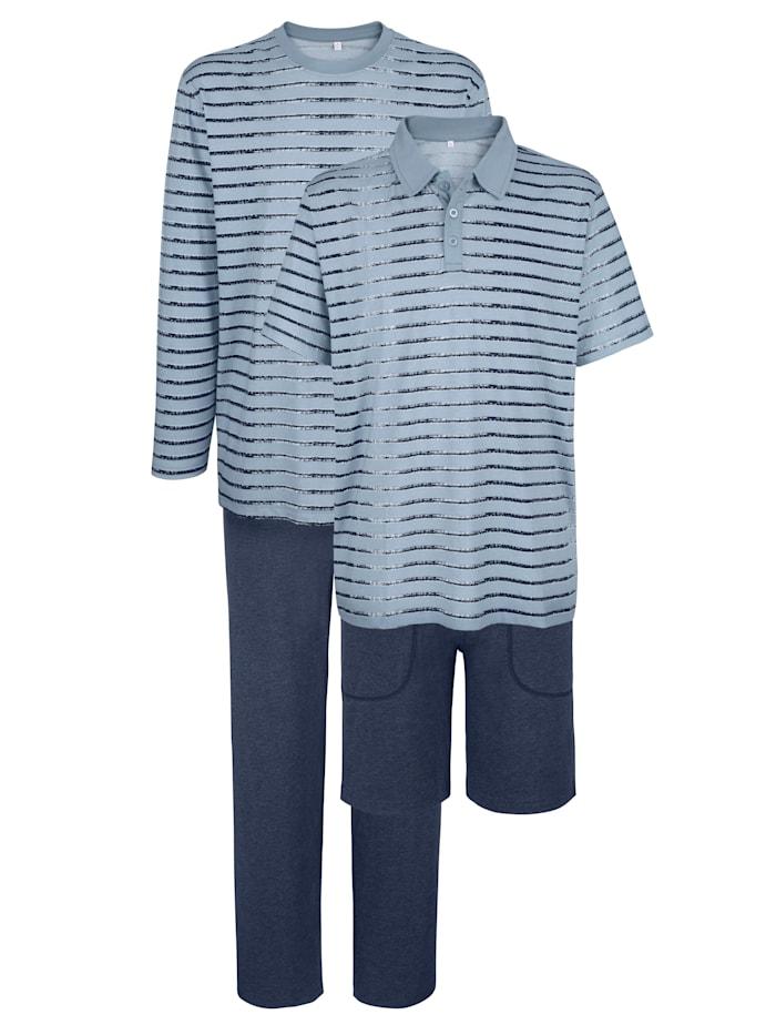 BABISTA Ensemble de pyjamas, Bleu/Marine