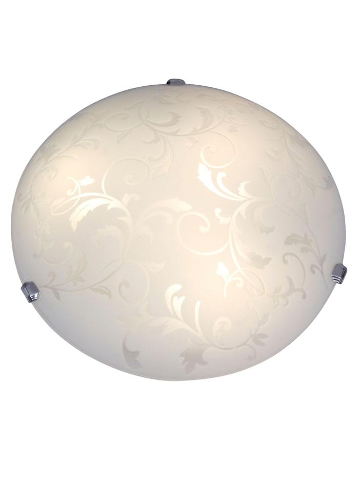 Näve Plafonnier LED, Blanc satiné